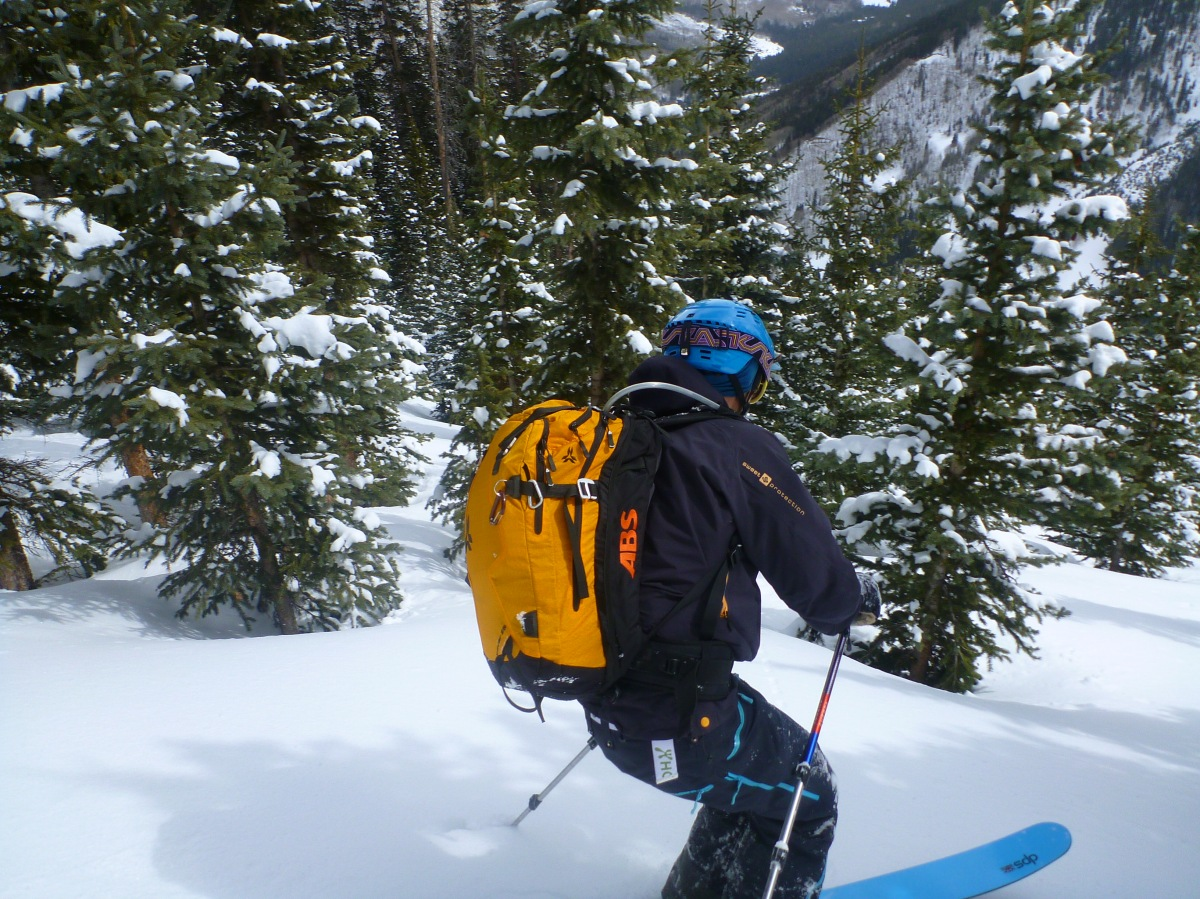 A note on the ABS vario avalanche backpack