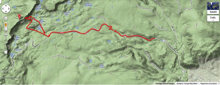 A long walk for a short, but beautiful, ride. Not everyone has a 3661 m high mountain in their backyard.