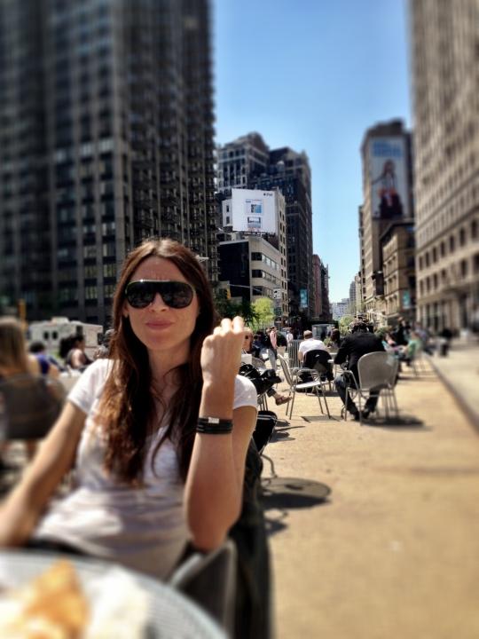 Lina Lo at Madison Square