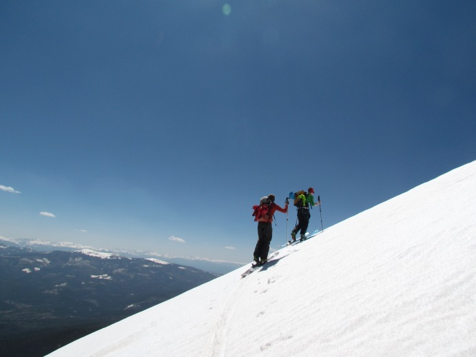 Getting higher. Photo: Matt Enlow