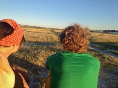 The prairie in Laramie