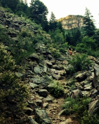 No name trail, Glennwood Springs