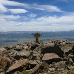 Thin air on the roof of Colorado – Mount Elbert on a bike