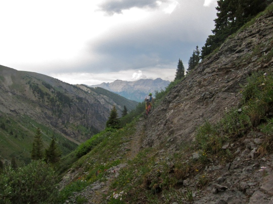 Wasatch trail, Telluride