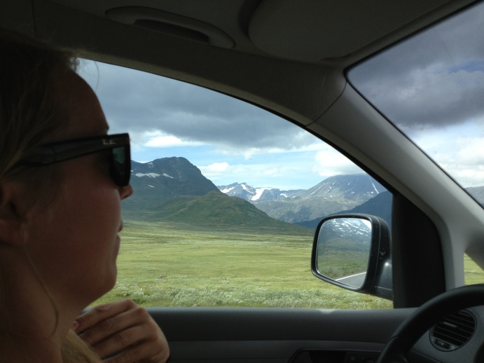 Loving Norway on the way home