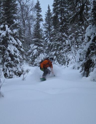 Skiing (ok ok snowboarding) Ryfjället 2012