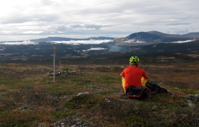 View over Borgafjäll