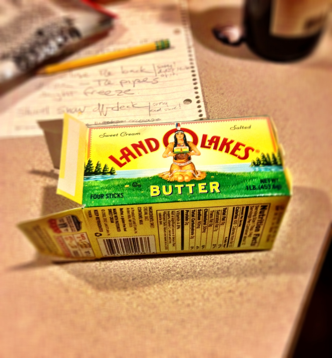 Stereotype butter