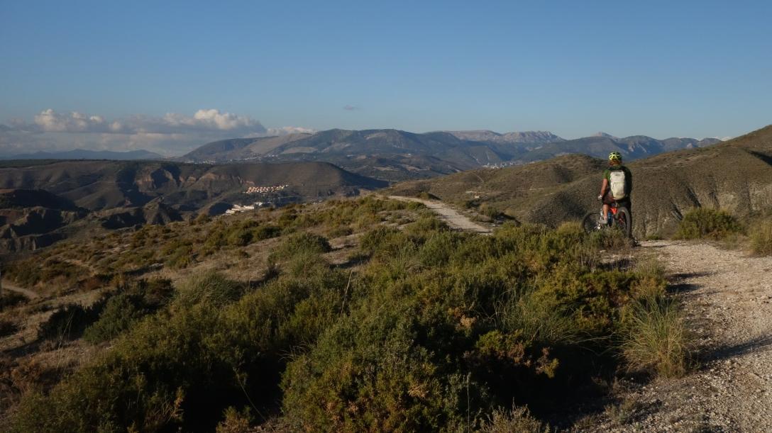 The final descent towards Monachil