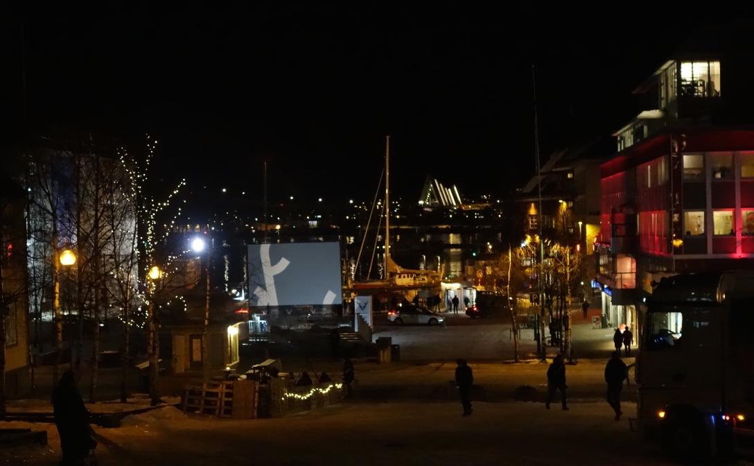 Tromsö by night (real night)