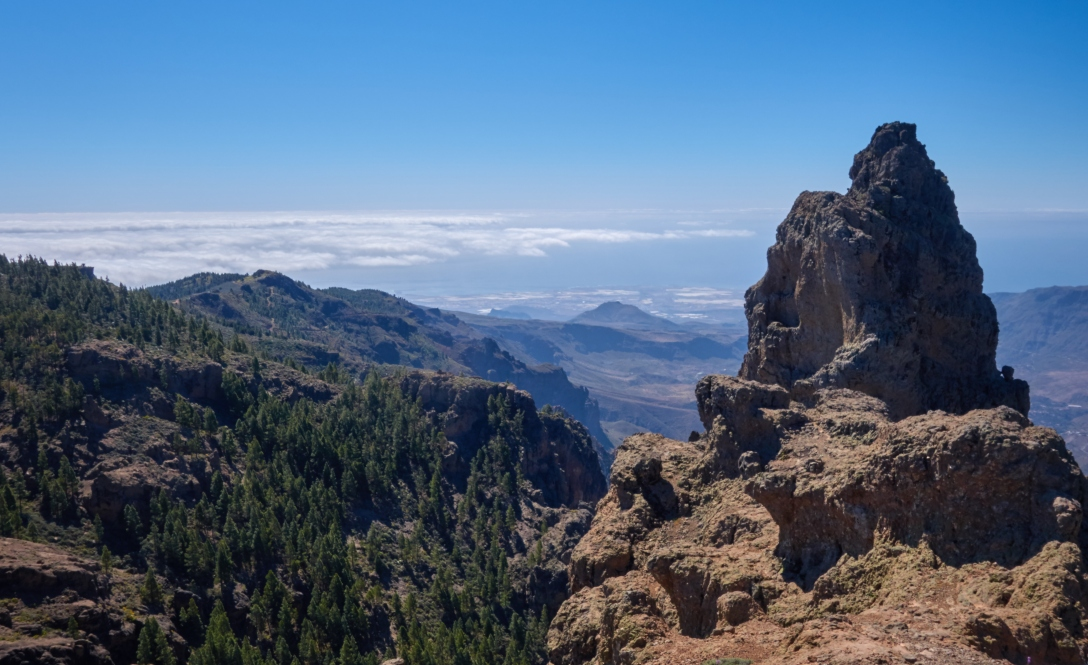 View from Pico del las Nieves