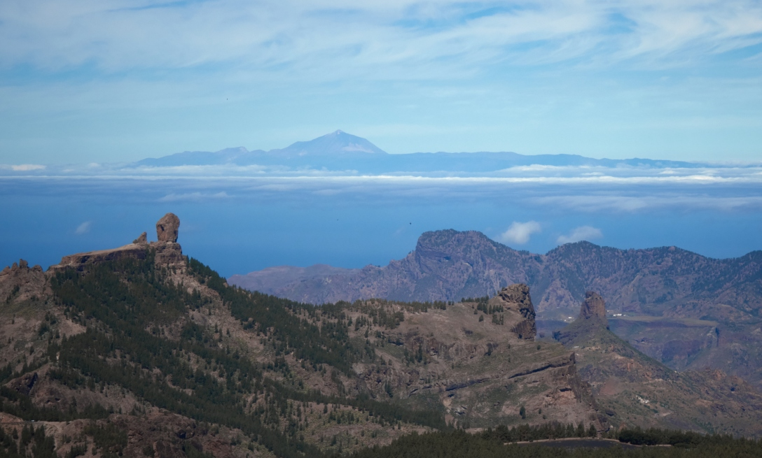 Roque Nublo and Teneriffe
