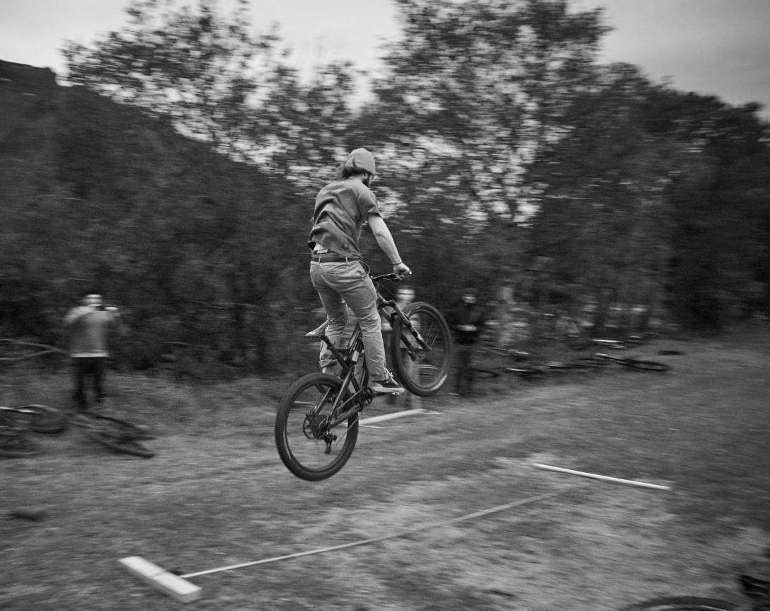 Jumping long.