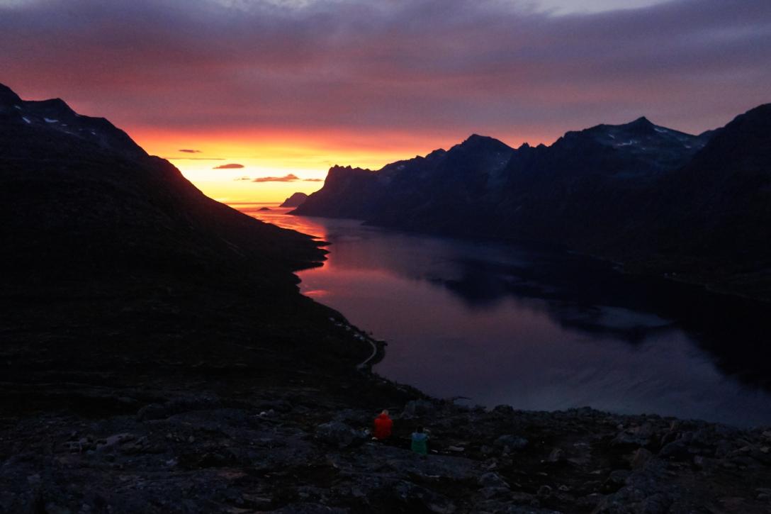 Summit view, Nattmålsfjellet