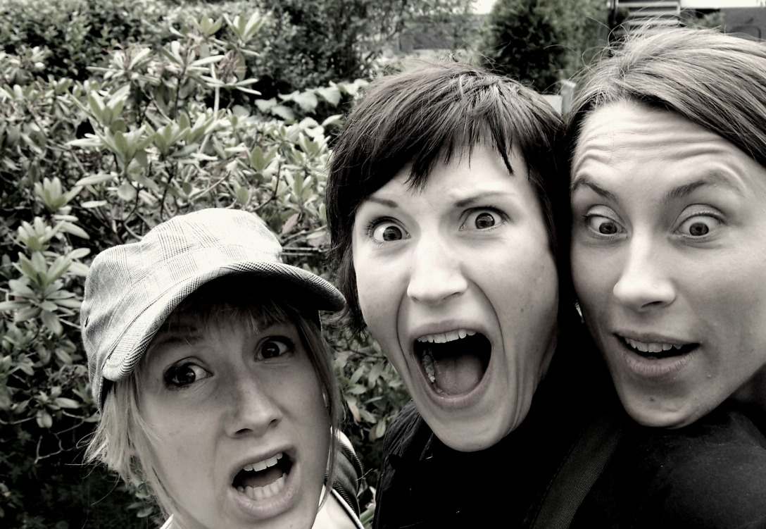 This is what we look like when we see a bear.