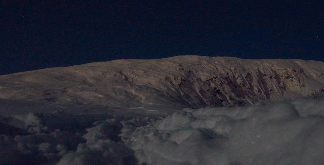 Moonlight over Finlandsfjellet