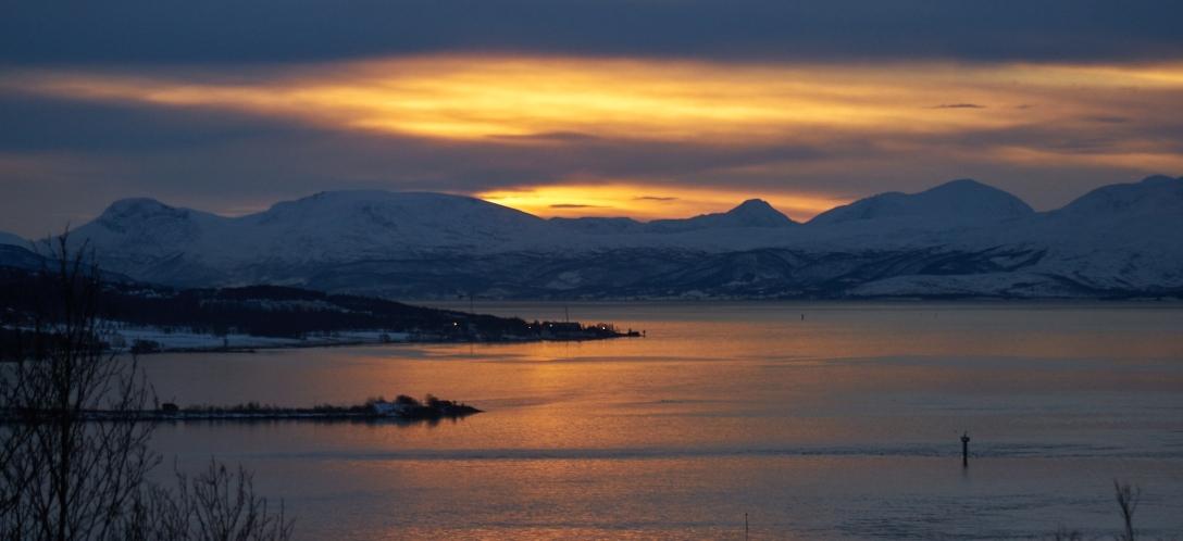Sunrise over Malangen