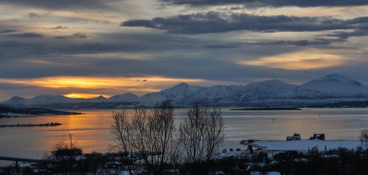 Last sunrise in Tromsø