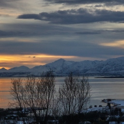 Last sunrise in Tromsø