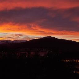 Sky over Tromsø